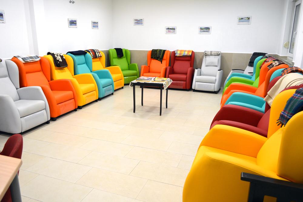 Sala de descanso San Cándido